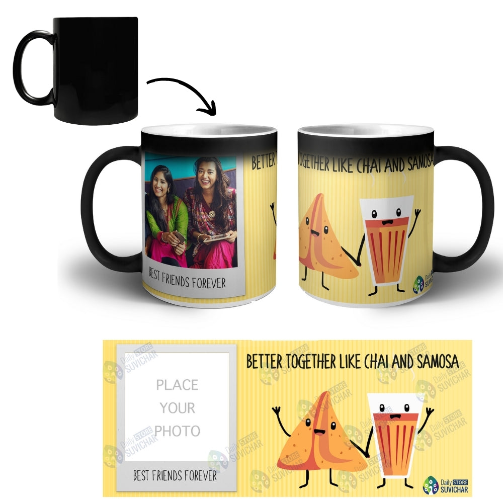 Best Friends - Personalized Magic Mug