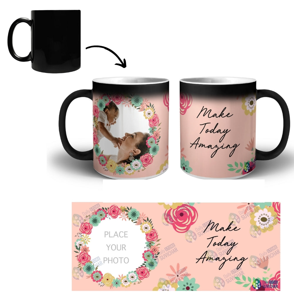 Amazing Day - Personalized Magic Mug COMBO