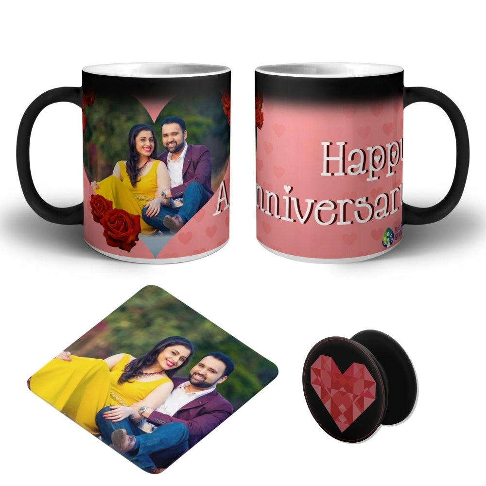 Anniversary - Personalized Magic Mug Super COMBO