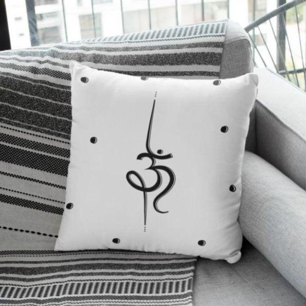 Om Mantra - Cushion - Daily Suvichar Store