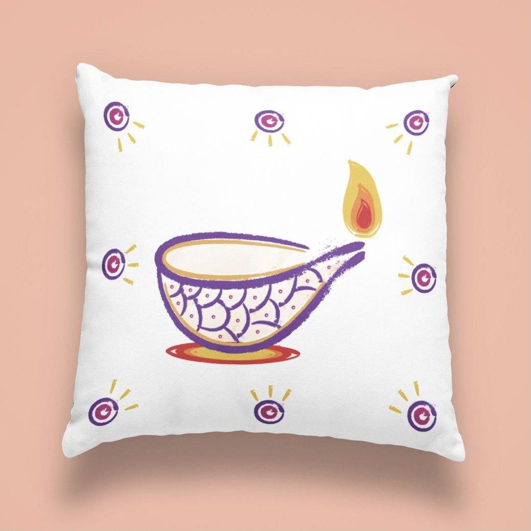 Diya - Cushion - Daily Suvichar Store