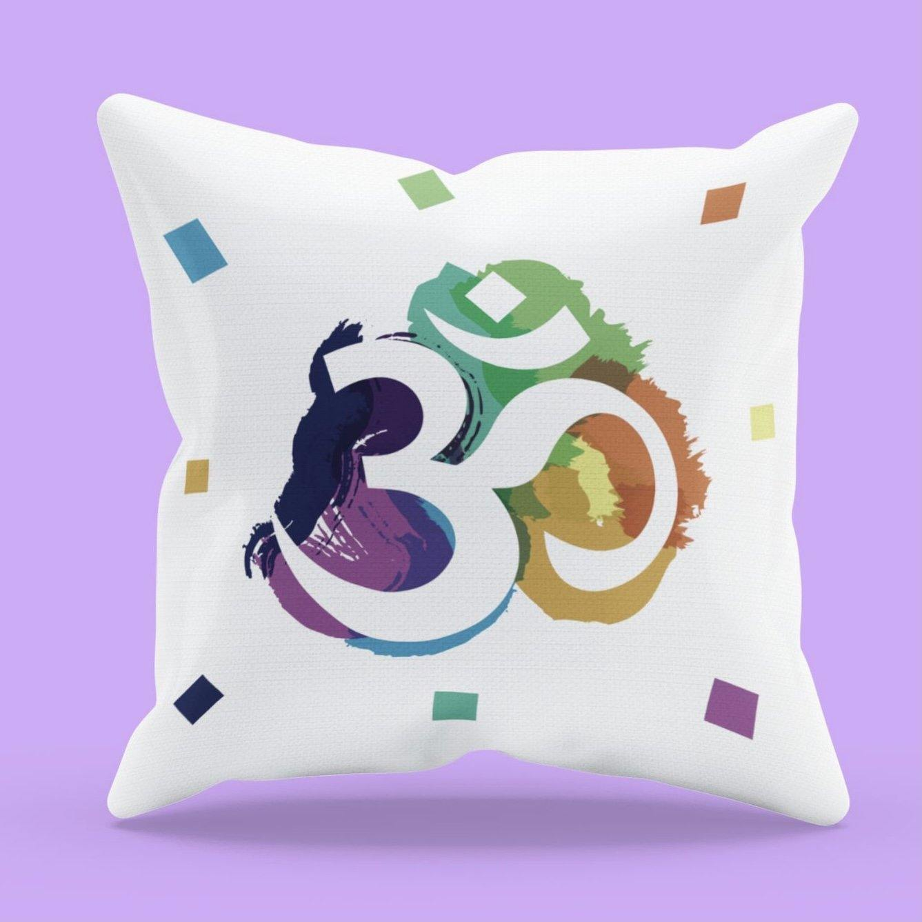 Om Colors - Cushion - Daily Suvichar Store