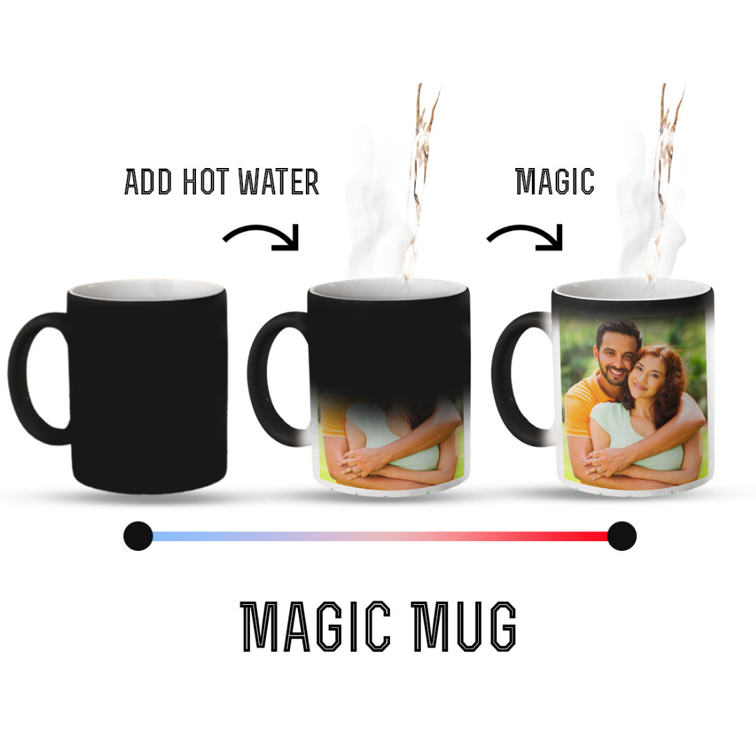 Set of 2 Personalized Magic Mugs