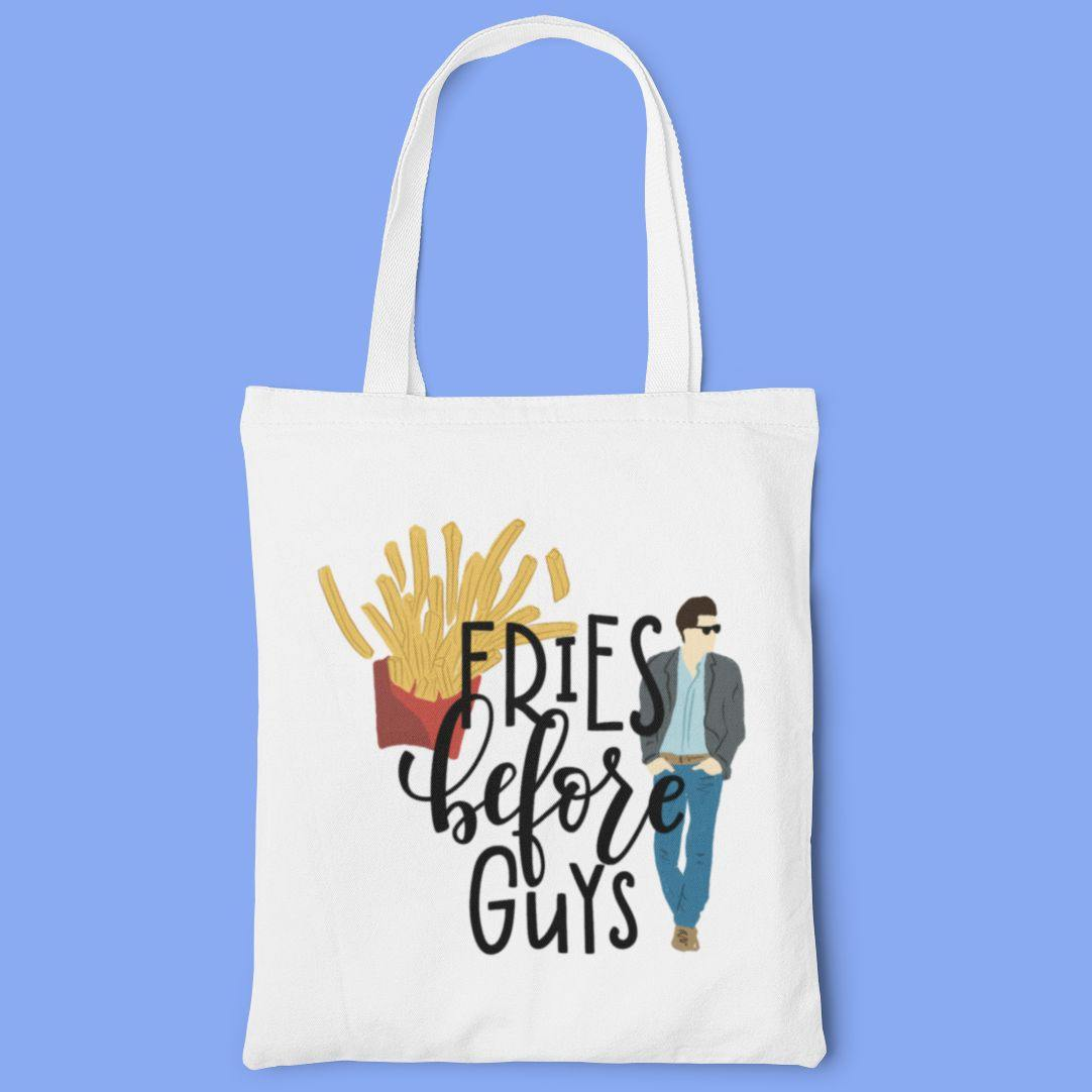 Fries Before Guys - Tote Bag - Daily Suvichar Store