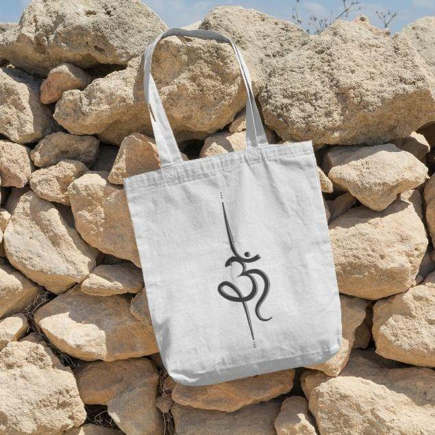 Om Mantra- Tote Bag - Daily Suvichar Store