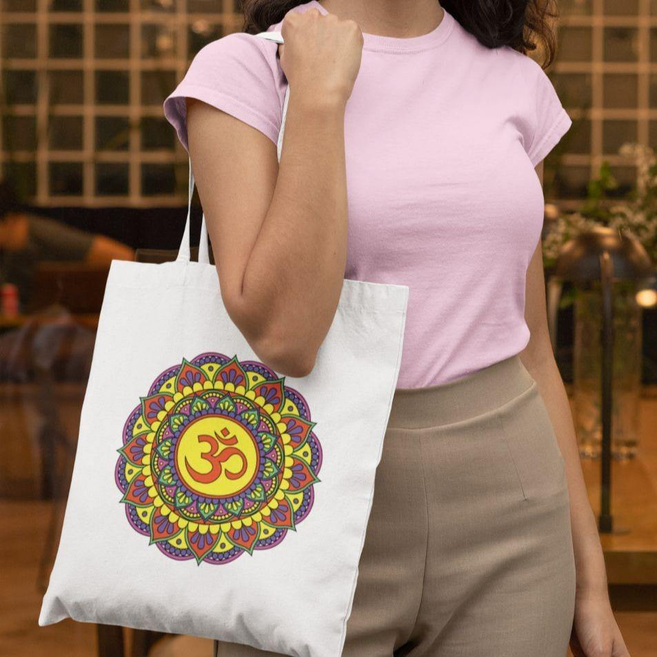 Om Meditative - Tote Bag - Daily Suvichar Store