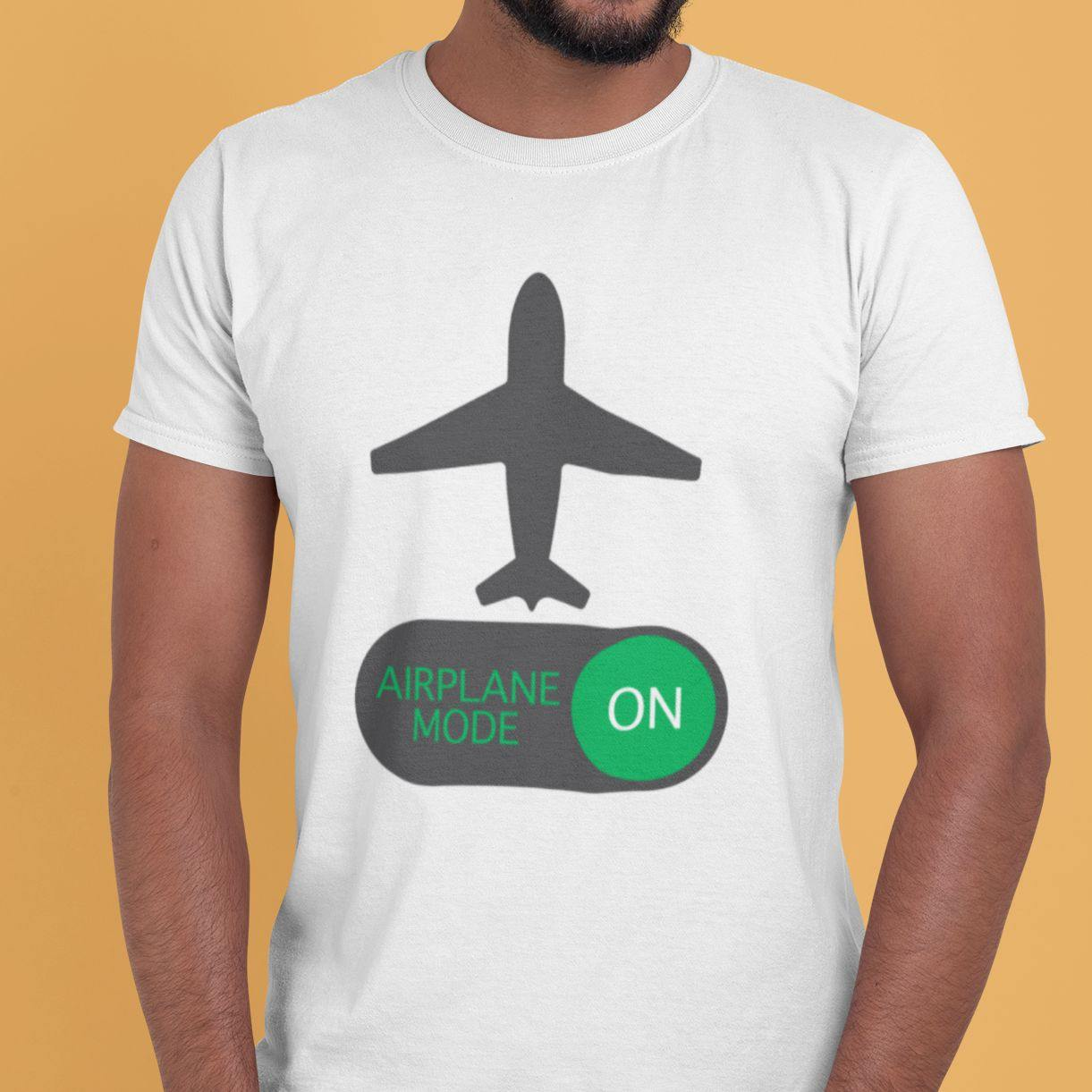 Airplane Mode ON - Men's Tshirt - Daily Suvichar Store