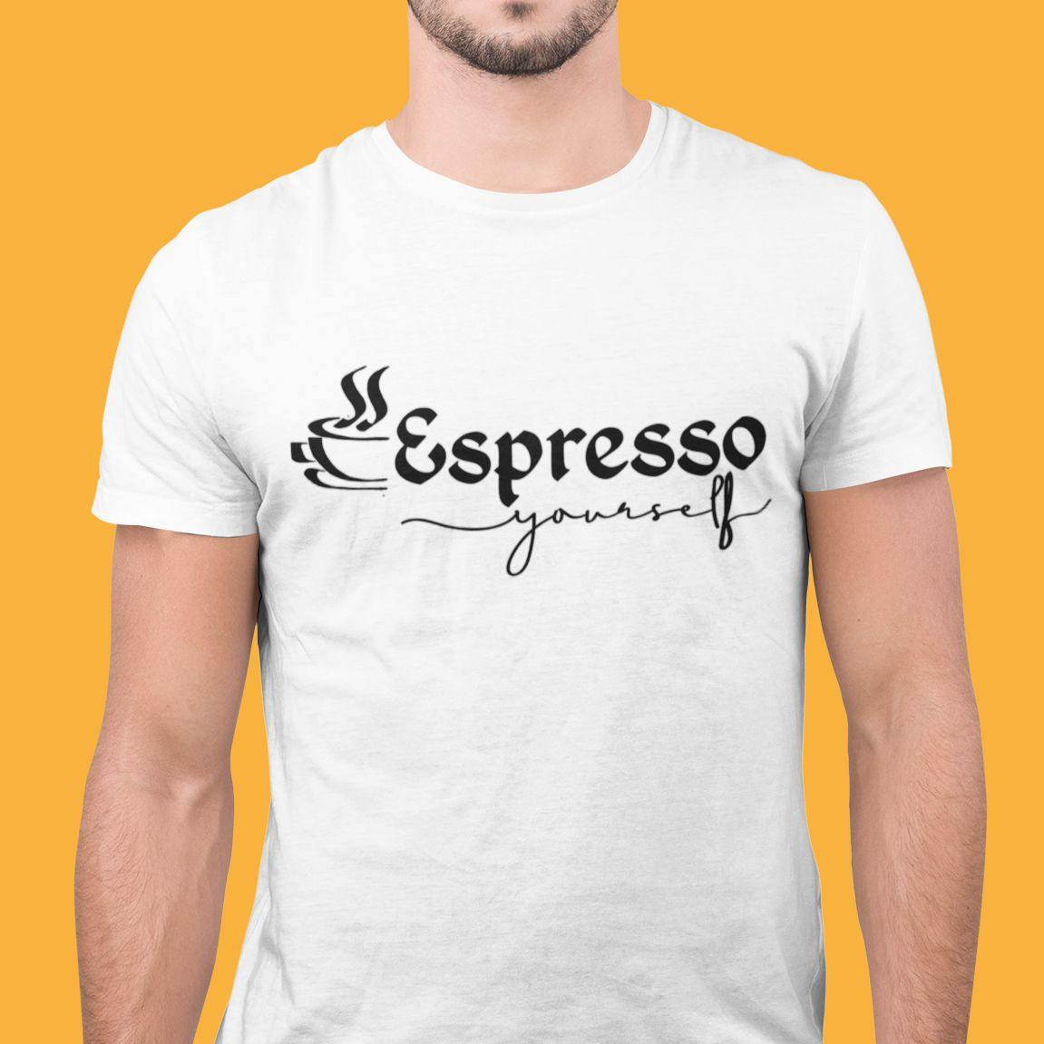 Espresso Yourself - Men's Tshirt - Daily Suvichar Store