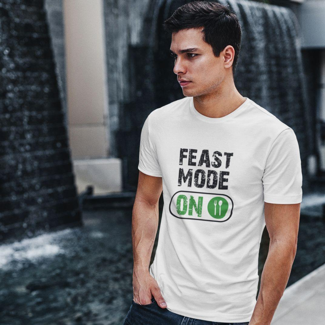 Feast Mode On - Men's Tshirt - Daily Suvichar Store