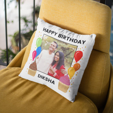 Birthday - Personalized Cushion