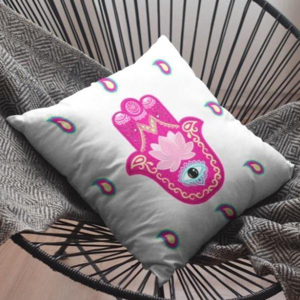 Best Great Quality Classic Comfortable Hamsa Printed Cushion