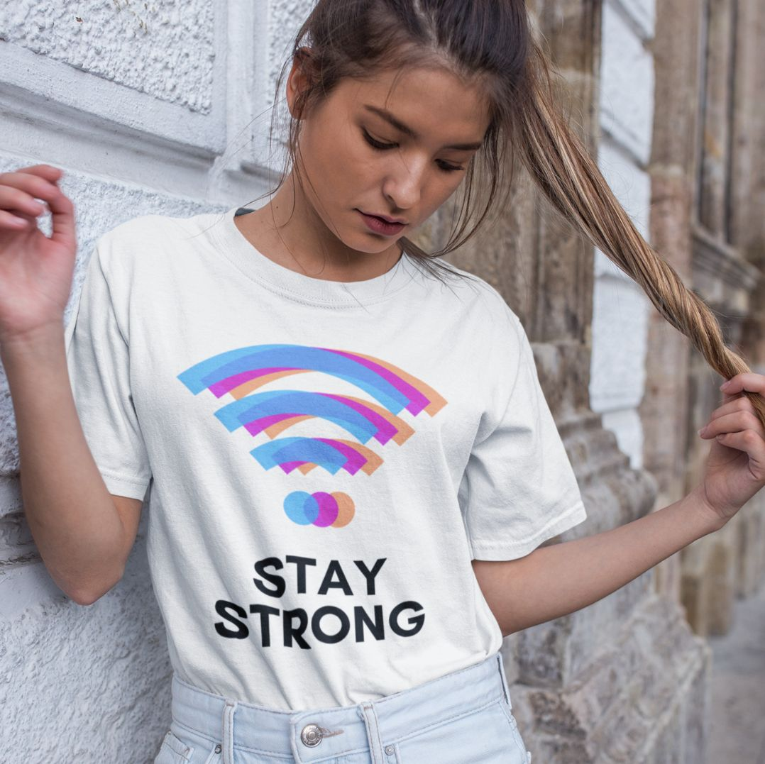 Stay Strong - Women's Tshirt