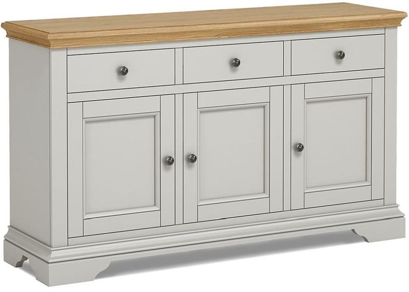 Chester Grey Large Sideboard