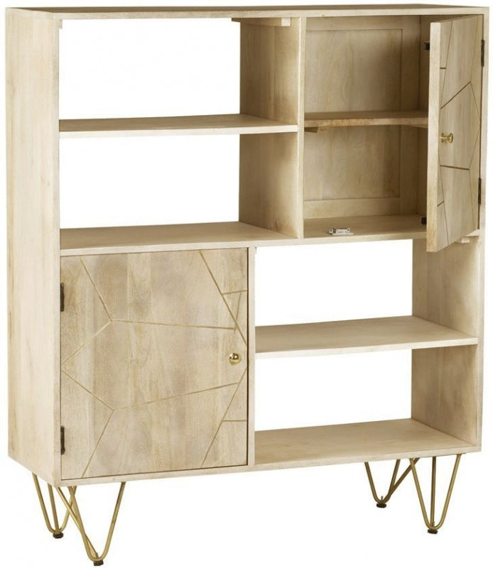 Abstract Display Cabinet