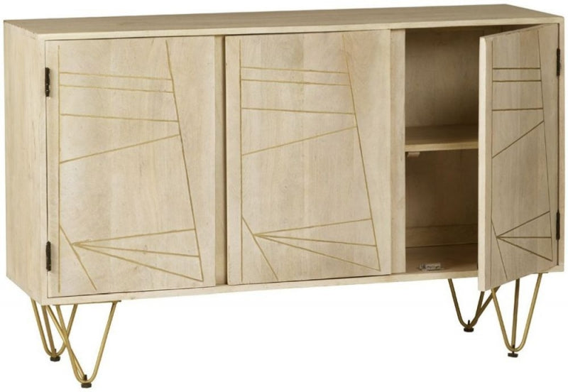Abstract Large Sideboard