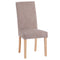Studded Tweed Dining Chair