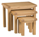 Oakham Nest of 3 Tables