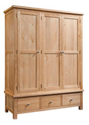 Dorchester Triple Wardrobe