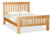 Shaftsbury 5ft King size Slatted Bed