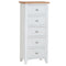 Gosport 5 Drawer Narrow Chest