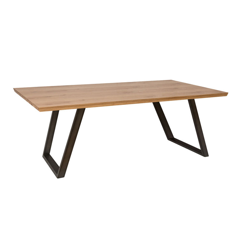 Indi 1.8m Fixed Top Dining Table