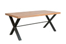 Brighton 1.8m Fixed Top Dining Table
