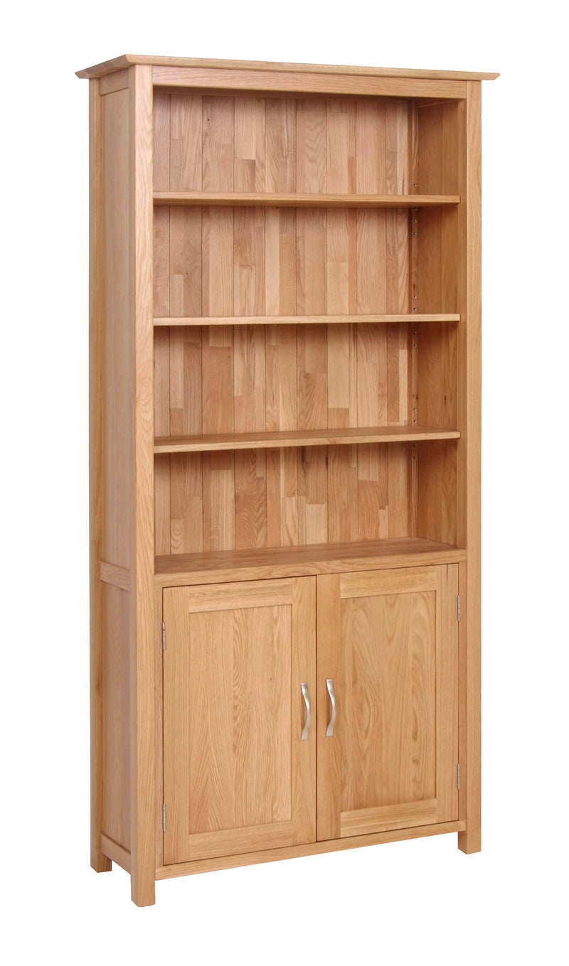 Newlyn Large Cupboard Bookcase