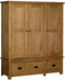 Ringwood Triple Wardrobe