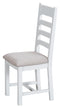 Titchfield Ladder Fabric Seat Dining Chair