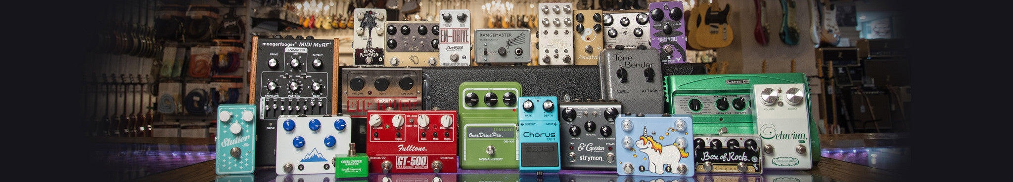 Guitar Effects Pedals & More