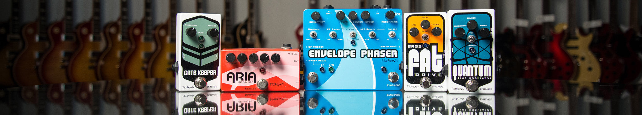 Pigtronix Pedals