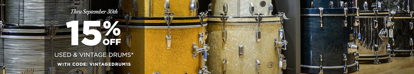 Used & Vintage Drums