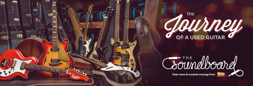 the journey of a used guitar chicago music exchange. Black Bedroom Furniture Sets. Home Design Ideas