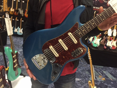 Fender Custom Shop Bass VI in Lake Placid Blue