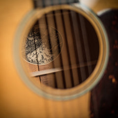 Collings guitar sound hole