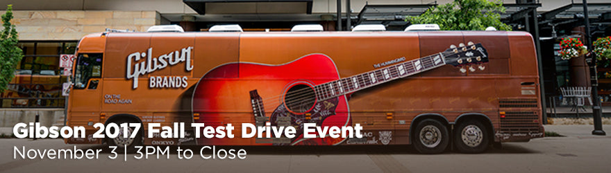 Gibson 2017 Fall Test Drive Event