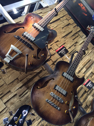 Ibanez Artcore Vintage electric bass guitars