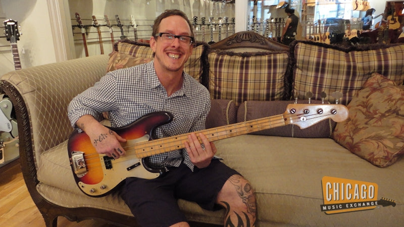 1958 fender precision bass reviews prices equipboard. Black Bedroom Furniture Sets. Home Design Ideas