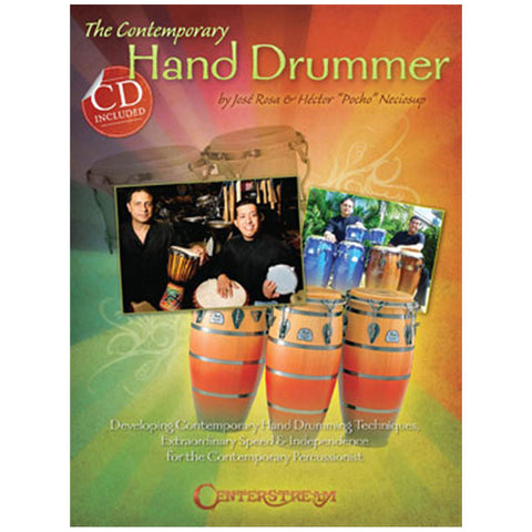 The Contemporary Hand Drummer - BOOK W/CD