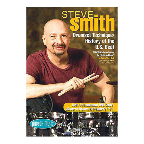 Steve Smith - Drum Set Technique/History of the U.S. Beat DVD