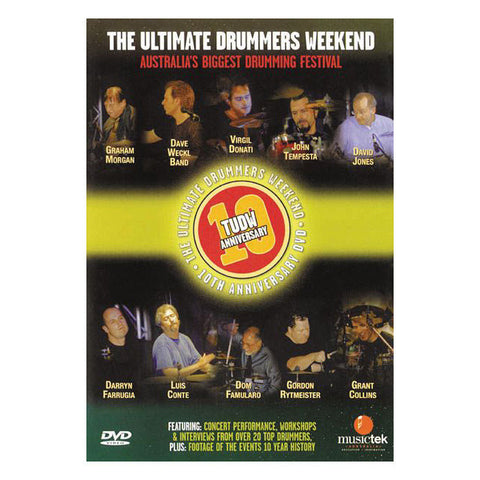 The Ultimate Drummers Weekend #10 DVD
