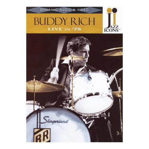 Jazz Icons: Buddy Rich, Live in '78 DVD