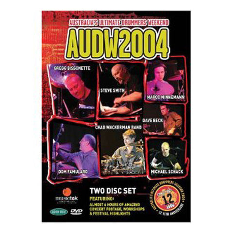 Australia's Ultimate Drummers Weekend 2004- AUDW2004 DVD