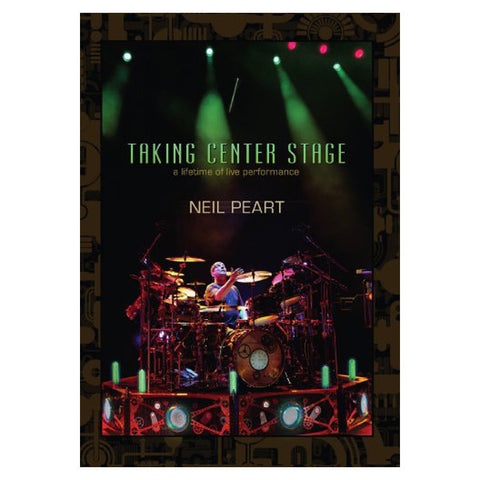 Neil Peart Taking Center Stage 3-DVD Set