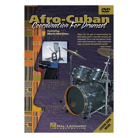 Afro-Cuban Coordination for Drumset - Softcover with CD
