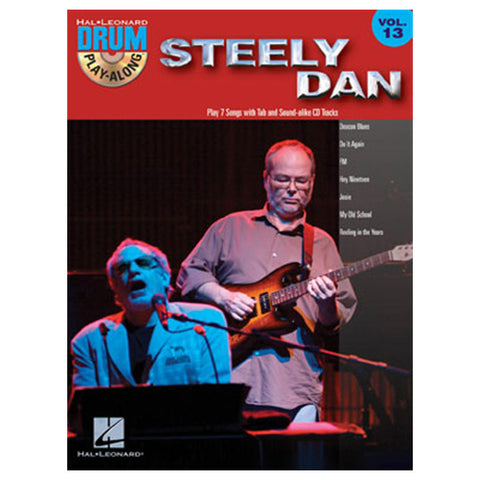 Steely Dan Drum Play-Along Volume 13 Book w/CD
