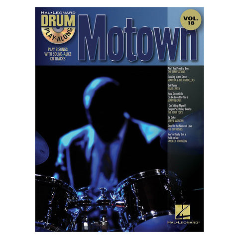 Motown Drum Play-Along Volume 18 Book w/CD