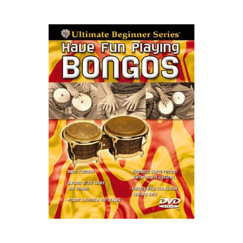 Ultimate Beginner Series: Have Fun Playing Hand Drums - Bongos DVD