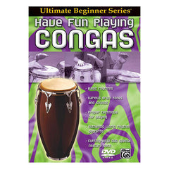 Ultimate Beginner Series: Have Fun Playing Hand Drums - Congas DVD