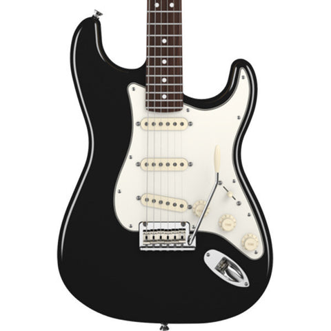 Fender American Standard Stratocaster Black with Rosewood Fingerboard Floor Model